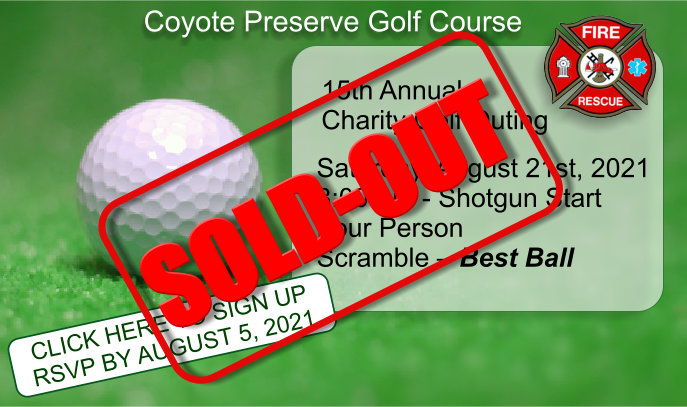 Sold-out 2021 Fenton Fire Fighter Golf Outing