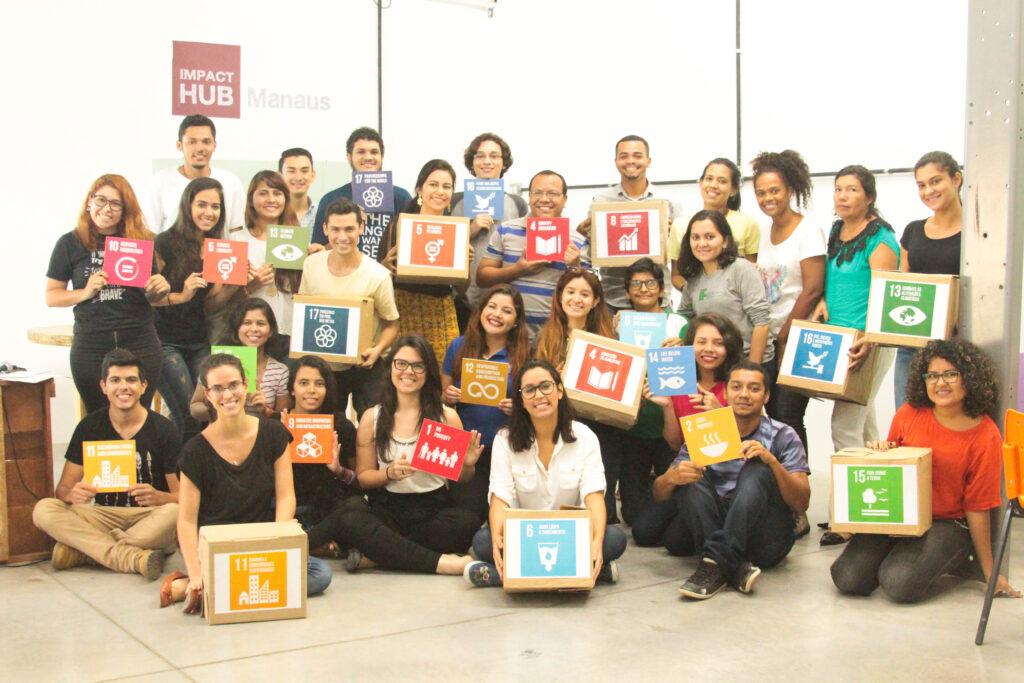 Participação da SDSN Jovem Amazônia no Vatican Youth Symposium no Vaticano e na Virada Sustentável em Manaus.