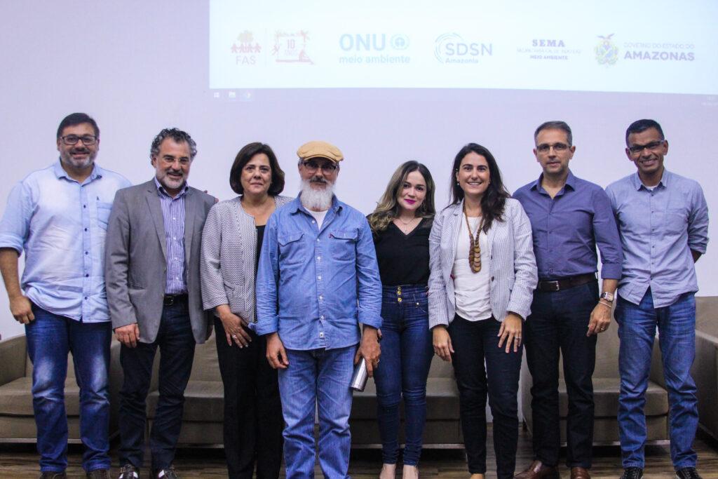 """Realização do diálogo """"Rio Limpos, para Mares Limpos"""" em parceria com a ONU Meio Ambiente."""