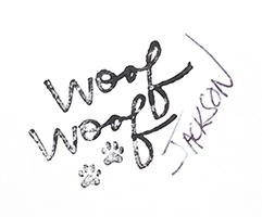 Woof signature JW smaller