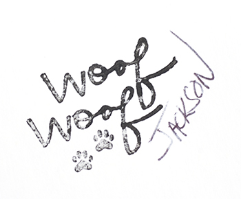 Woof signature JW