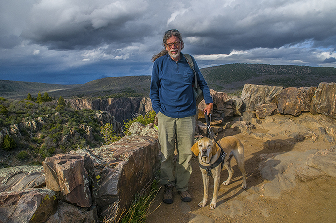 Me and Matt at the black canyon.