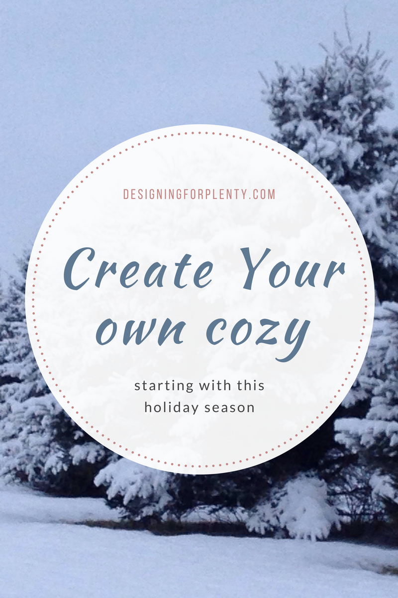 Create Your Own Cozy