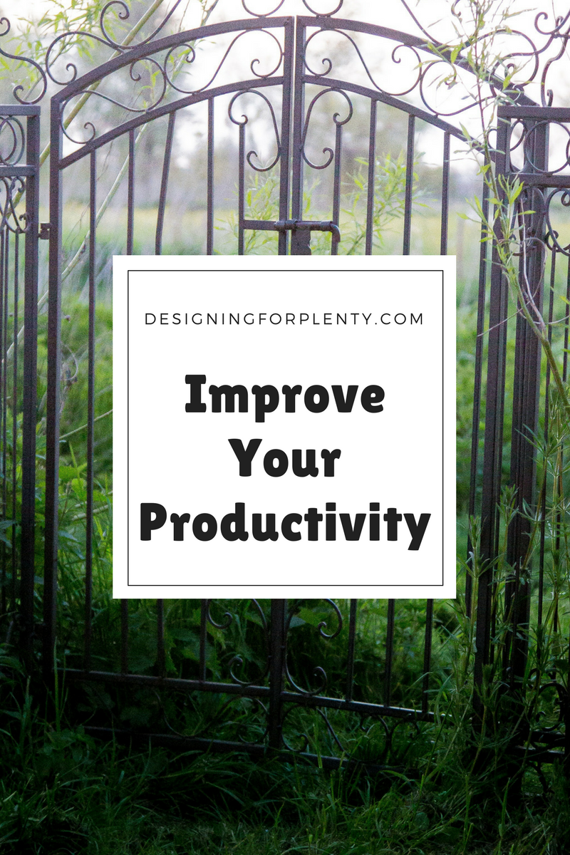 productivity, goals, working, home, improvement