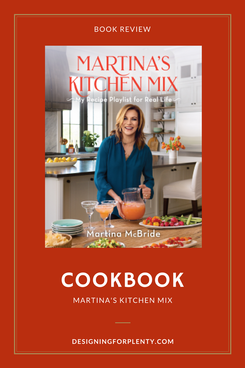 cookbook, Marina Mcbride, food and wine, #Martina'sKitchenMix, #NetGalley,Martina's Kitchen Mix