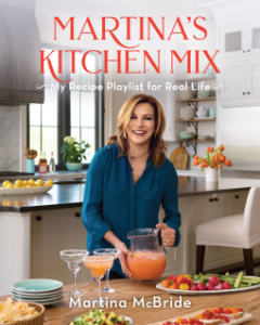 cookbook, martina's kitchen mix, martina mcbride,