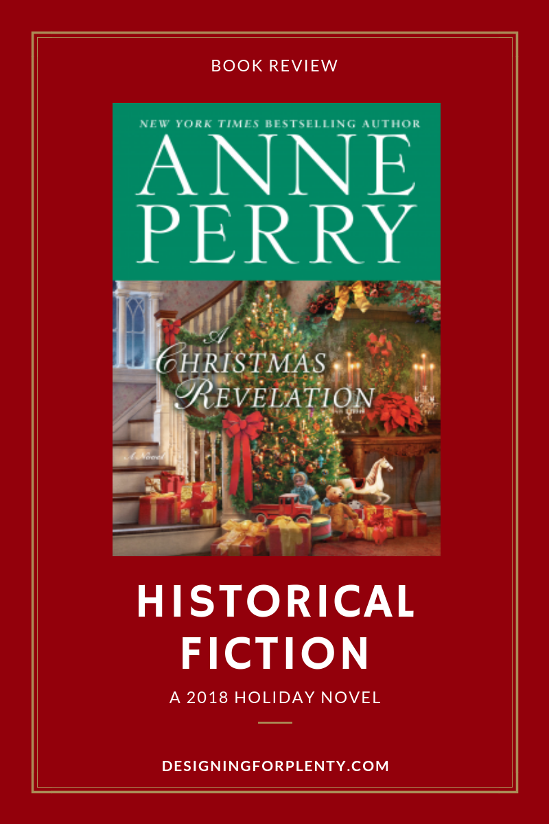 2018 holiday, book review, Anne Perry, historical fiction, Christmas