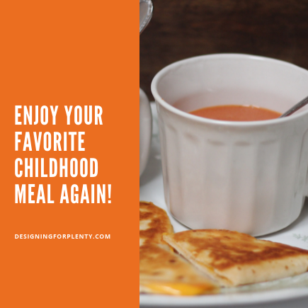 Enjoy Your Favorite Childhood Meal Again