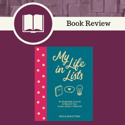 my life in lists, Nicole Barlettano, Quarto Publishing Group - Rock Point Rock Point, Journal, lists