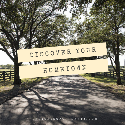 discover your hometown, hometown, explore, find, experience, discover