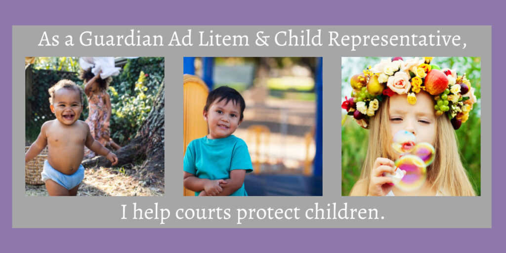 Lindsay B. Coleman is a guardian ad litem and child representative. She protects children.