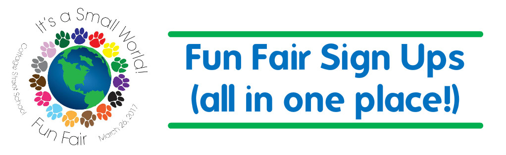 Fun Fair Sign Ups (all in one place!)