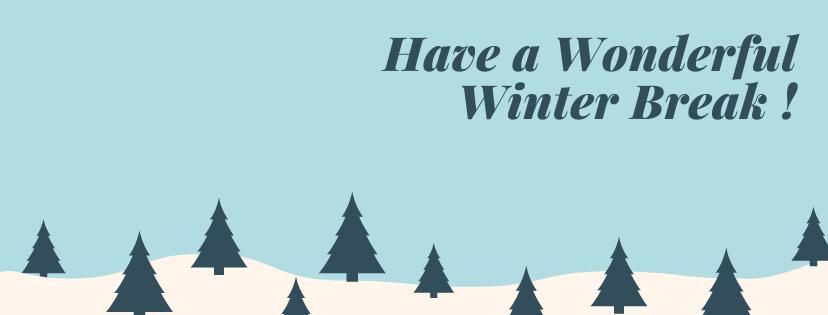 Happy Winter Break