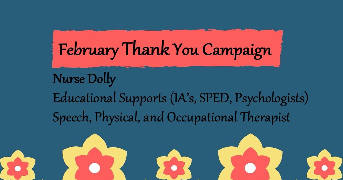 February Thank You Campaign