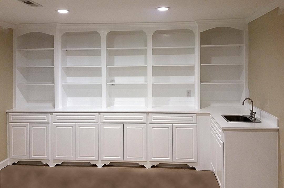 custom built shelving and storage in the Triad, North Carolina