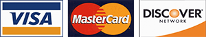 handyman Mark accepts these credit cards, visa, mastercard and discover