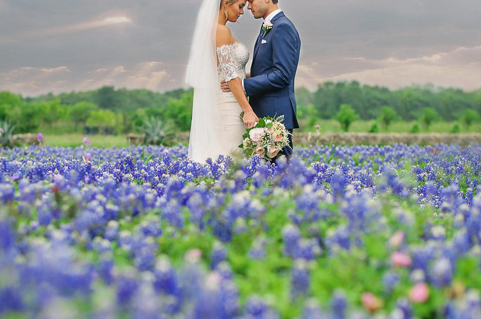 Katie & David's April Wedding