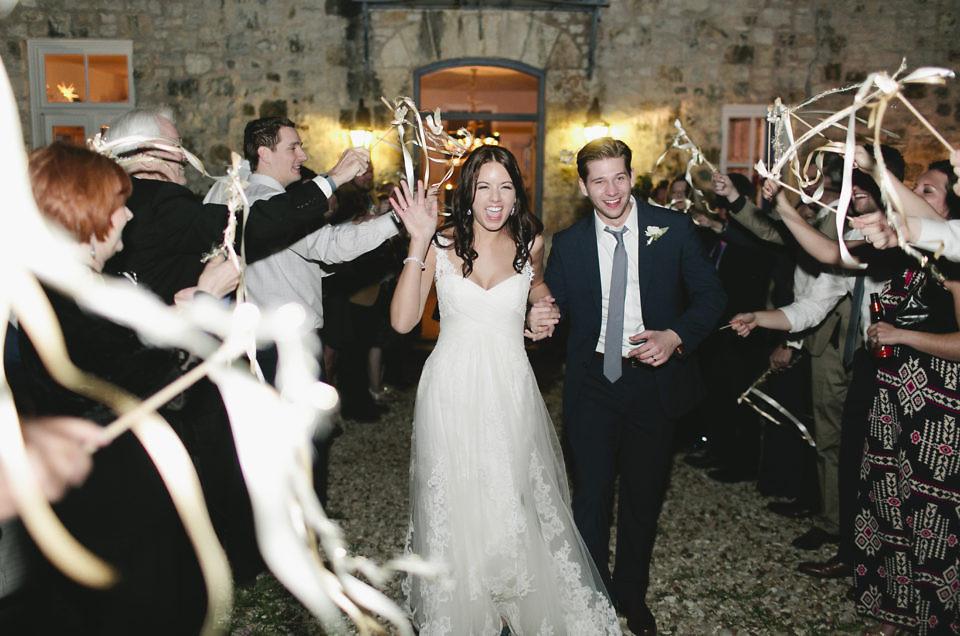 Katy & Brandon's February Wedding