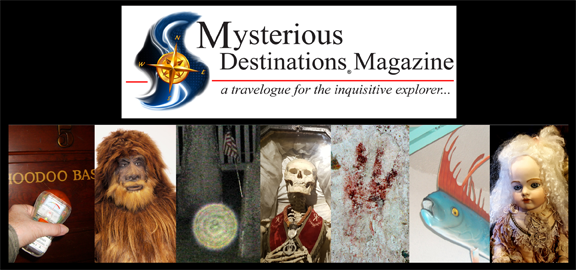 The Mysterious Destinations Magazine's website has been updated.