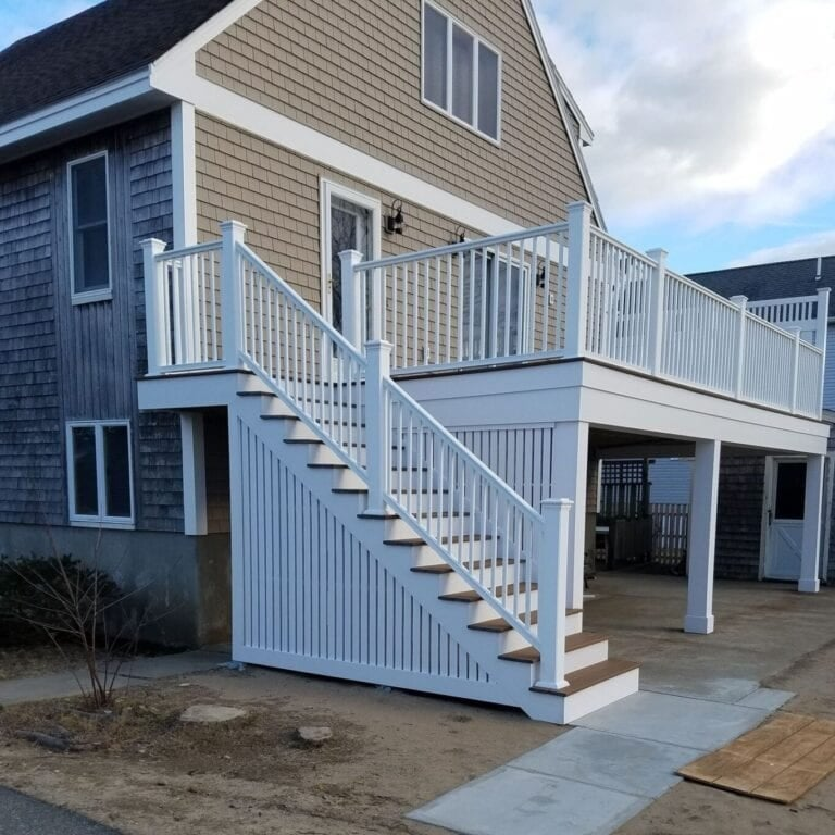 exterior remodeling and deck