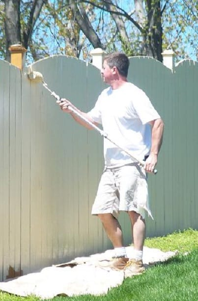 Painting a Fence