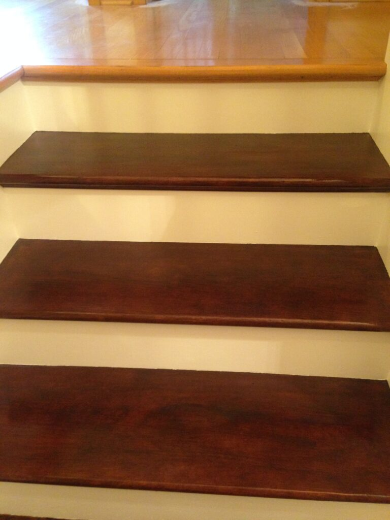 Stairs with Two-one Tread and Riser