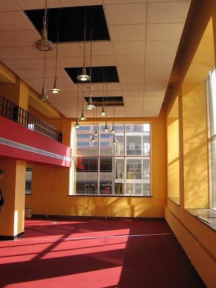 Commercial Indoor Multi-Color Atrium
