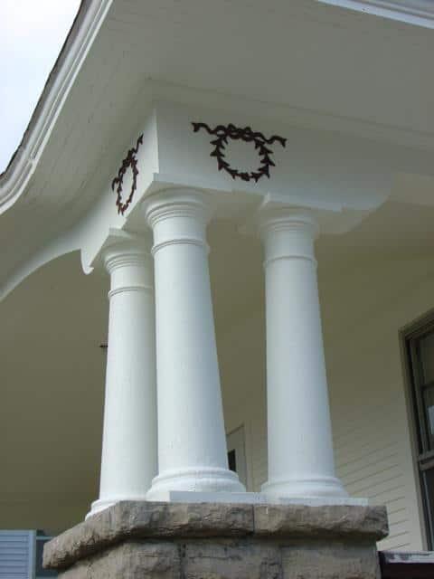 Decorative Dorian Columns