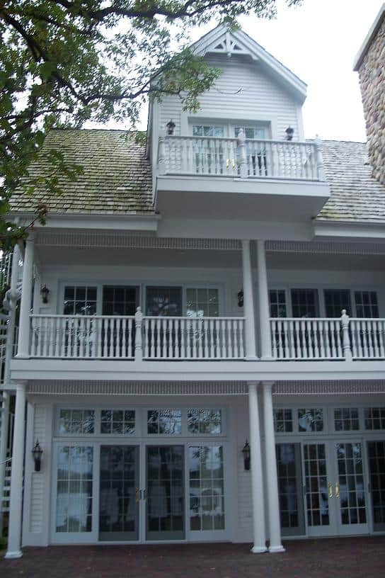 Historic Residential House with Two-Story Porch