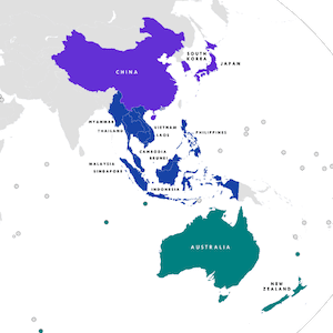 rcep asia pacific countries