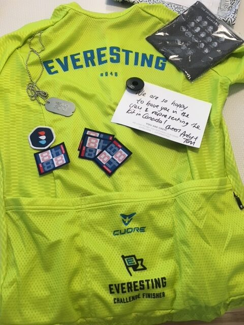 Maillot de l'Everest