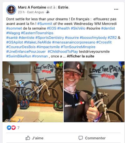 Facebook Marc Fontaine - #Marc4Smile