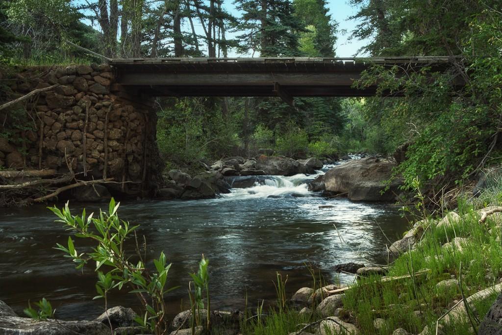 Leroux Creek  inset
