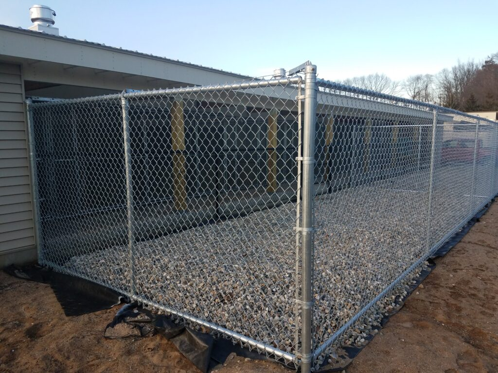 6_ H Galvanized Chain Link Kennel Fence