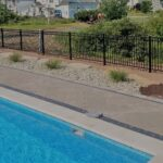 Commerical Grade 54 Inch Pool Fence 2
