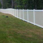 SLIDER - 6_ H Solid Privacy Vinyl Perimeter Fence