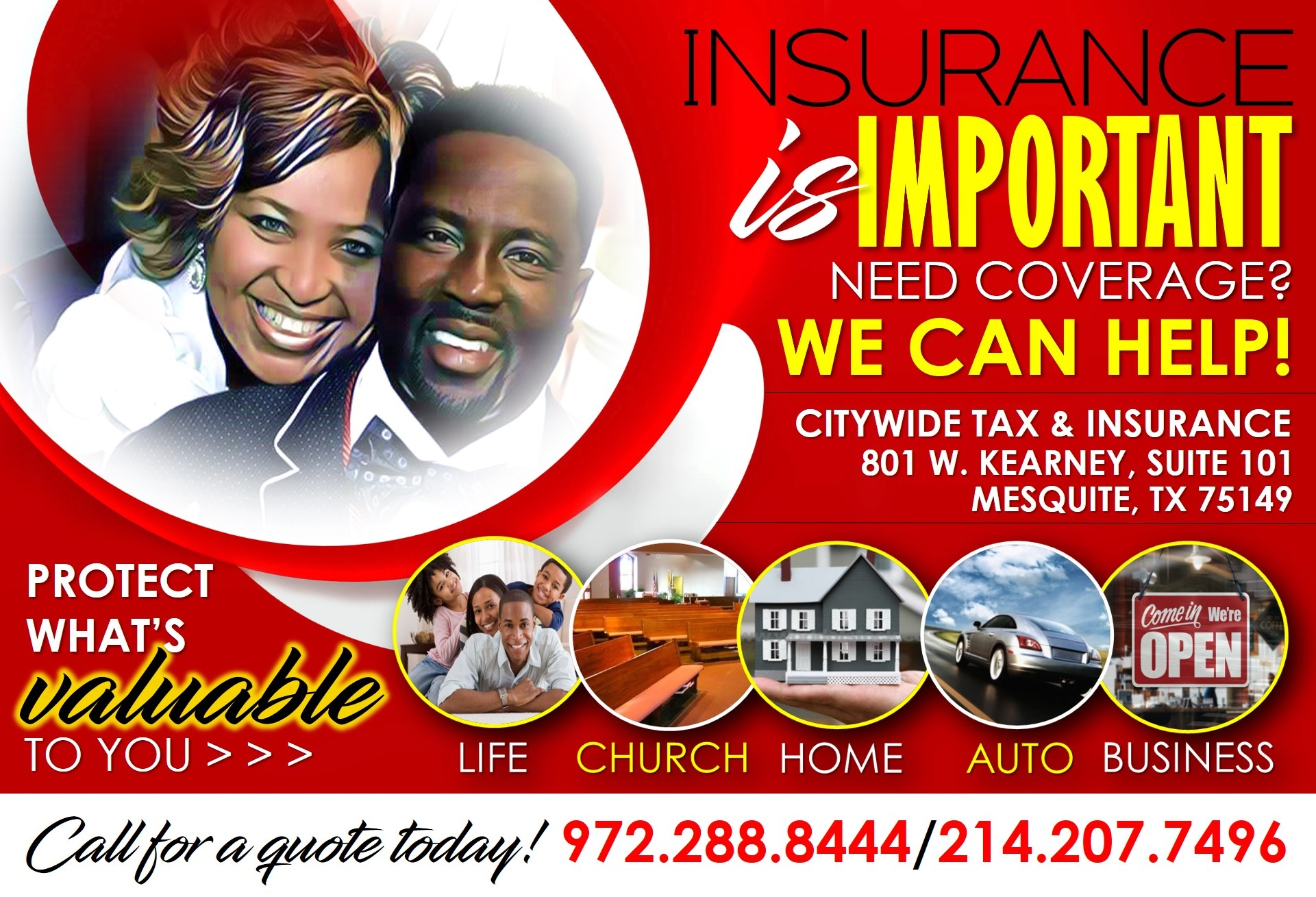 Insurance FRONT