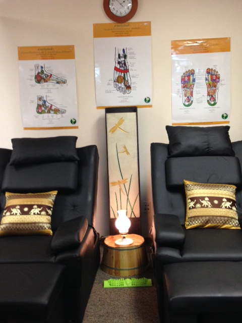 Foot Reflexology Area
