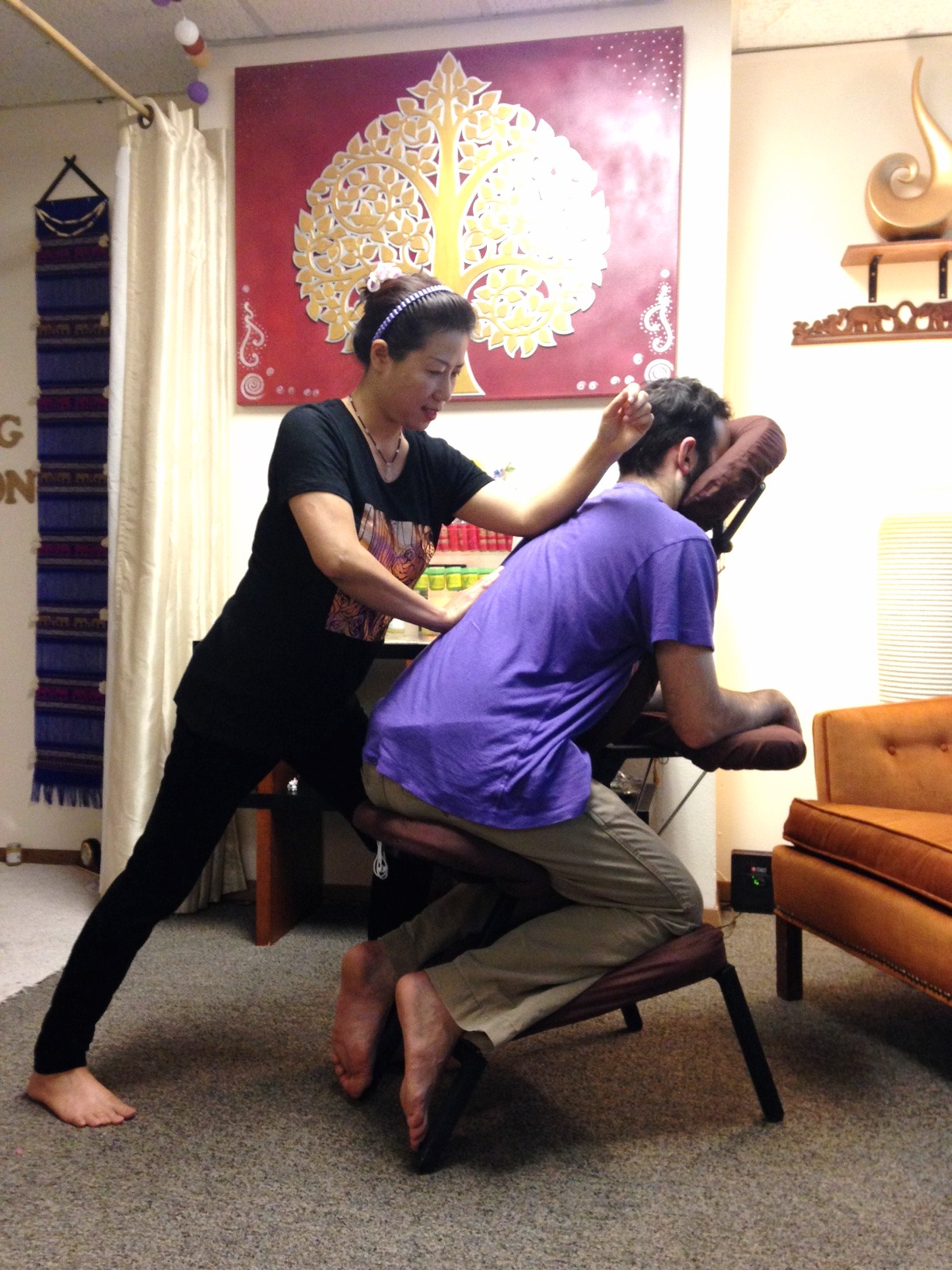 Thai Chair Massage