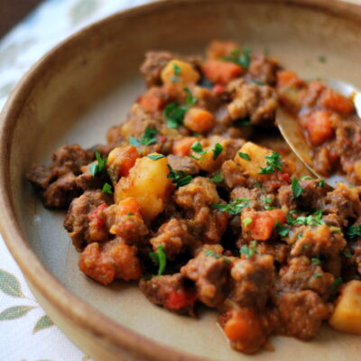 Beef Paprikash