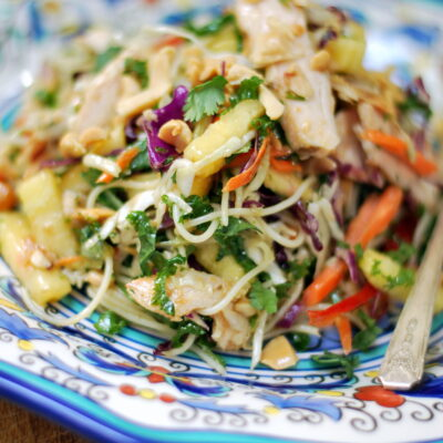 Asian Chicken Vegetable Salad