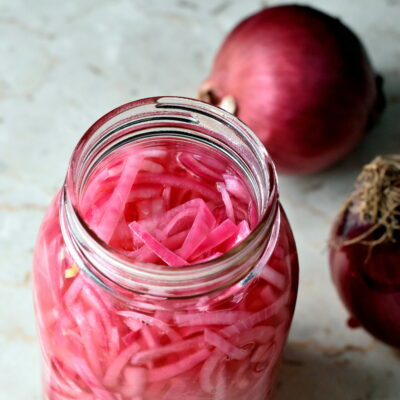 Easy Pickled Onions