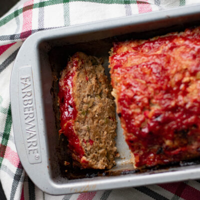 Horseradish Turkey Meatloaf