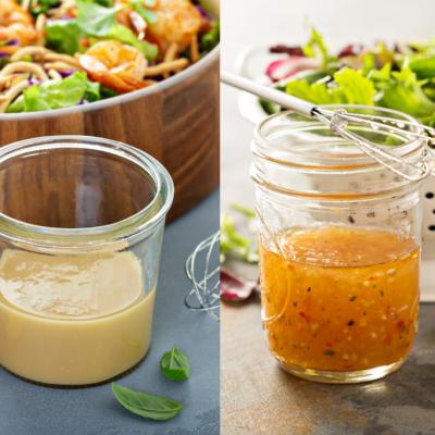How To Make Homemade Salad Dressings