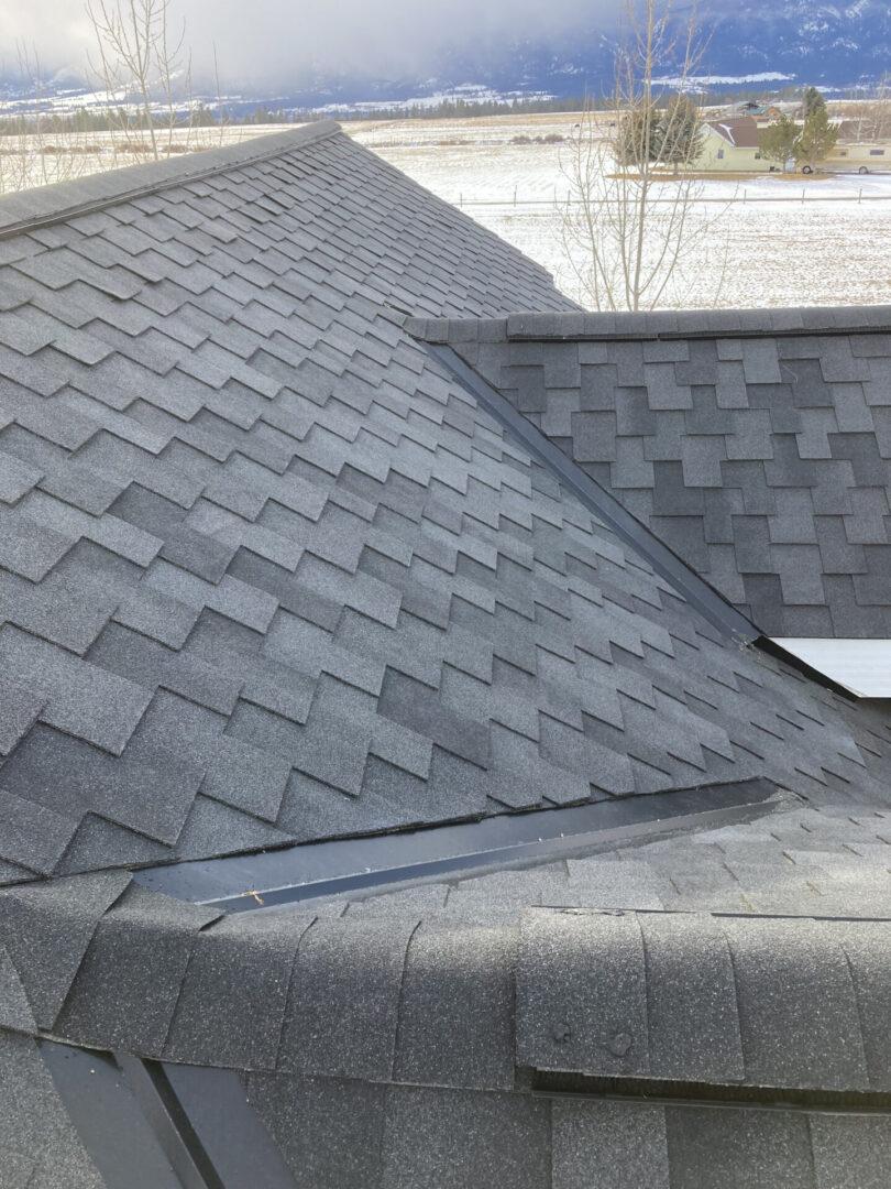 Roofing asphalt shape