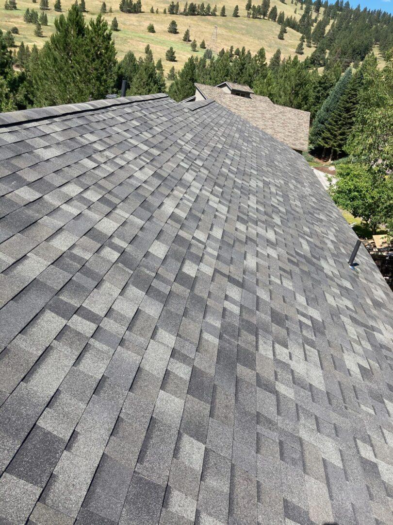 Roofing rectangle vinyl
