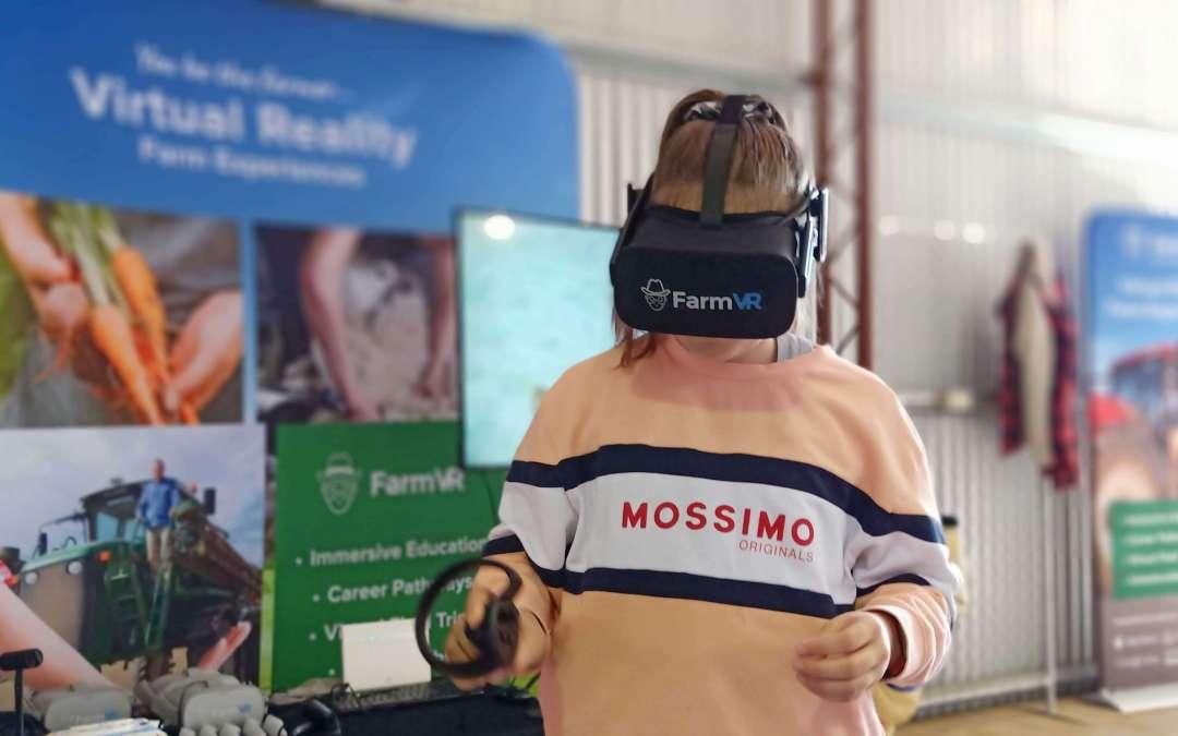 Farming Virtual Reality Experiences at Yorke Peninsula Field Days 2019