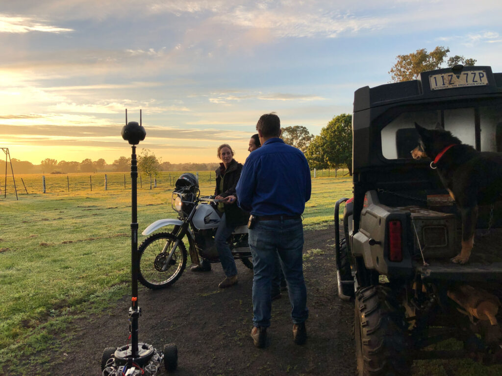 Agricultural 360 video production