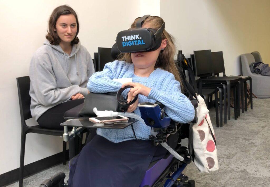 virtual reality community garden accessibility