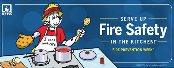 September Safety Corner – National Fire Prevention Week
